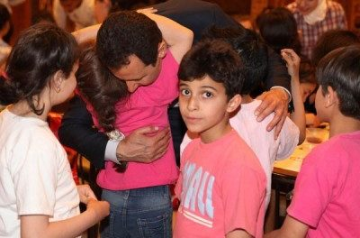 Syria Daily, May 7: Assad Campaigns With Children on Martyrs' Day