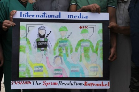 Syria: Kafranbel's Protesters  — This is How Media Erases Us from the Picture
