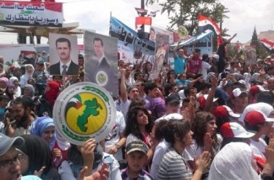 Syria Daily, May 27: Promoting Assad's Re-Election