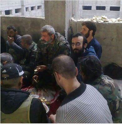SYRIA TROOPS ALEPPO PRISON
