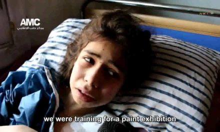 "Syria 1st-Hand: ""Damn Bashar!"" — Girls Recall Bombing of Aleppo School That Killed Dozens"