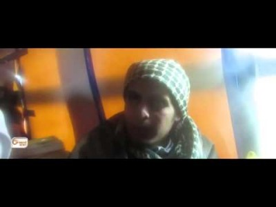"""Syria Video: Insurgent Sarout """"Homs Will Be a Victory For the Besieged"""""""