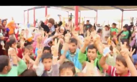 "Syria Video:  #RestoreHappy — Refugee Children Celebrate to Pharrell's ""Happy"""