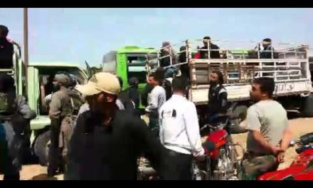 Syria Videos: The Insurgents Leave Homs