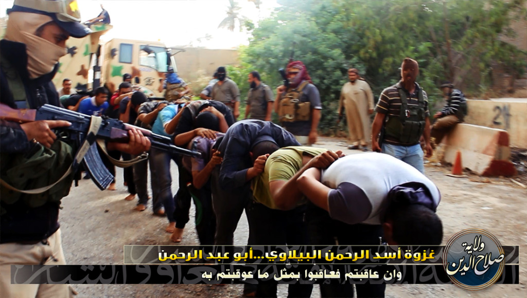 ISIS ROUNDUP OF DETAINEES
