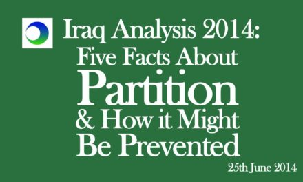Iraq Video Analysis: 5 Cold, Hard Facts About Partition…& How It Might Be Prevented