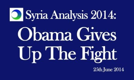 Syria Video Analysis: Obama Gives Up The Fight