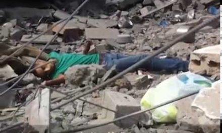 Gaza Video: In Destruction of Shaja'ia, A Civilian is Killed By An Israeli Sniper