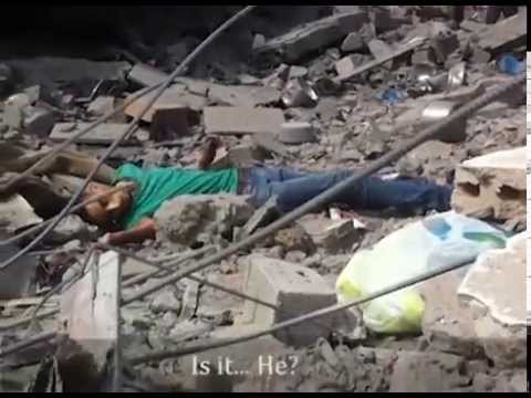 Gaza Video: In Destruction of Shaja'ia, A Civilian is Killed By An Israeli Sniper