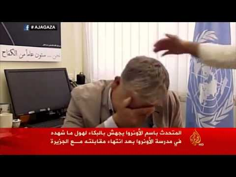 Gaza Video: Top UN Official Breaks Down On-Air Over Israel's Killing of Civilians