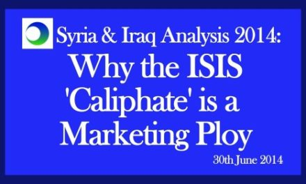 "Iraq Video Analysis: Why Islamic State's ""Caliphate"" Is a Marketing Ploy"