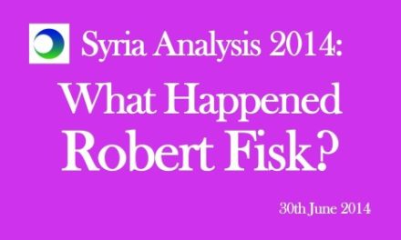 Syria Video Analysis: What Happened, Robert Fisk?