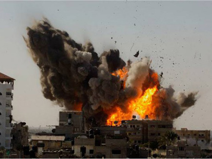Gaza Daily, August 24: Israel Levels a 14-Story Building