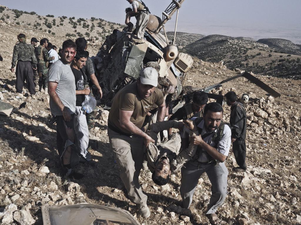 IRAQ HELICOPTER CRASH
