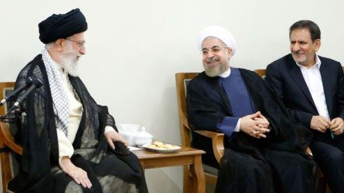 """Iran Daily, August 28: Supreme Leader to Rouhani """"Stand Firm Against the US"""""""