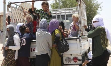 """Iraq Feature: The Yazidis Threatened With """"Death by Thirst"""" By Islamic State Advance"""
