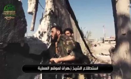 Syria Daily, August 12: The PR Battle Over the Insurgency's Offensives