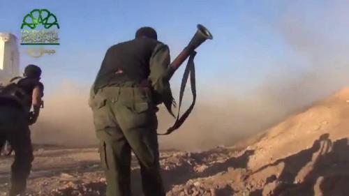 Syria Videos: Insurgents Break the Regime's Siege of Mleiha, Key Town East of Damascus