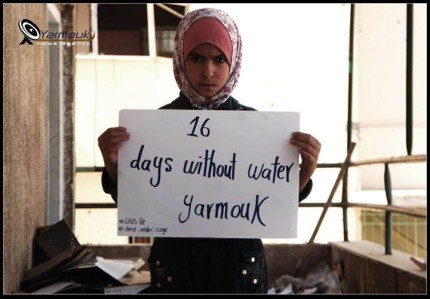 YARMOUK WATER CRISIS