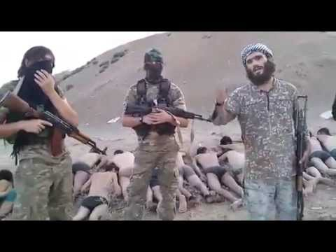 Syria Video Feature: Abu Umar's Chechens Involved in Mass Killing of Syrian Soldiers at Tabqa Airbase
