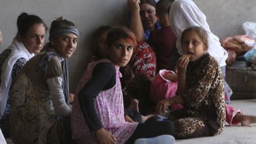 "Iraq Feature: ""Islamic State Forces Young Yezidi Women, Teenage Girls to Marry Its Fighters"""