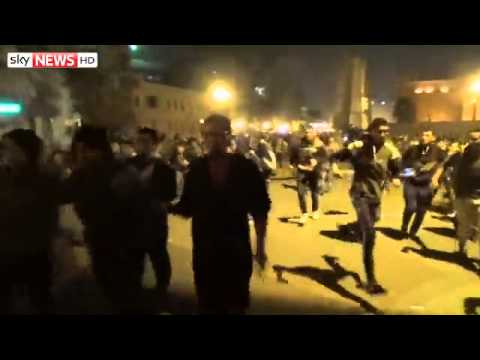 Egypt Feature: 2 Killed in Protests After Mubarak Acquitted