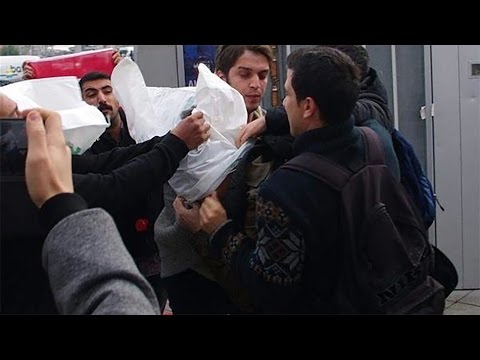 Turkey Daily, Nov 13: Protesters Accost Visiting US Sailors in Istanbul