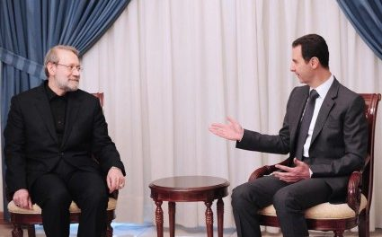 Syria Daily, Dec 22: Assad Hosts Iran's Speaker of Parliament — But No Word on More Aid from Tehran