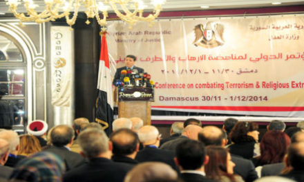 "Syria Daily, Dec 1: Assad Regime Hosts ""International Conference on Combating Terrorism"""