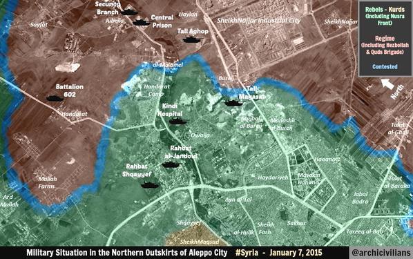 ALEPPO MAP