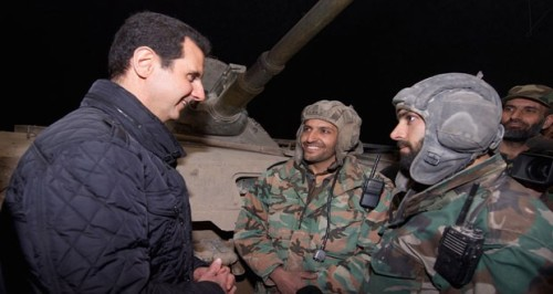Syria Daily, Jan 1: Assad Greets Troops in New Year's Appearance in Damascus