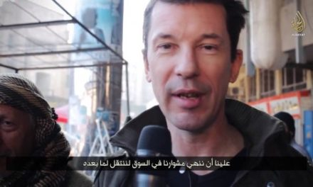 "Iraq and Syria Video Feature: British Hostage Cantlie's Latest Film for Islamic State — ""Inside Mosul"""