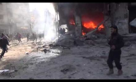 "Syria Daily, Jan 24: Assad Regime's Deadly Bombing for ""Reconciliation"" Near Damascus"