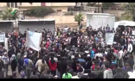 Syria Daily, Jan 3: Protests from Homs to Aleppo