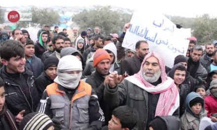 Syria Daily, Jan 14: Refugees Go on Hunger Strike Over Poor Living Conditions
