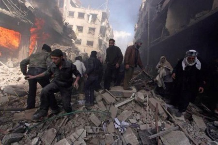 "Syria Daily, Feb 11: Assad Says ""We Have No Barrel Bombs"" as 100+ Are Killed By Airstrikes in Douma"