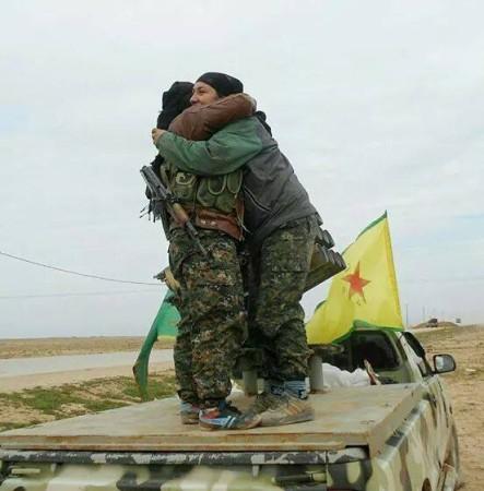 KURDISH FORCES TEL HAMIS