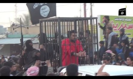 Iraq Video Feature: Islamic State Parades Kurdish Peshmerga in Cages
