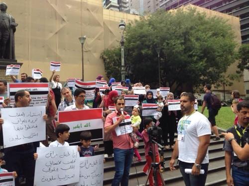 IRAQ STUDENT PROTEST