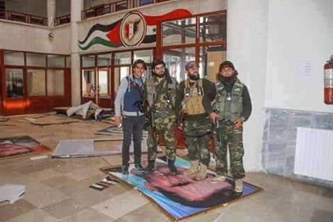 REBELS IDLIB GOVERNOR PALACE