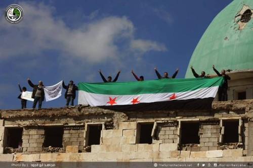 SYRIA DEMO HANANO 13-03-15