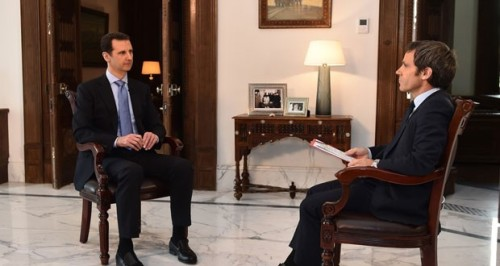 Monocle 24: Assad Gives Interviews as He Loses the War