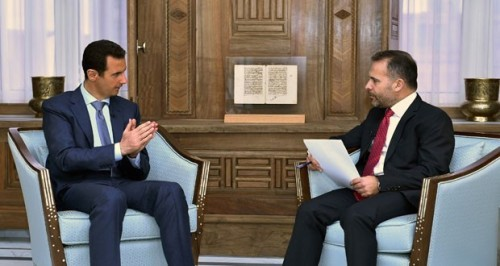"Syria Interview: Assad Blames Idlib Defeat on ""Outside Powers"" — ""Sometimes You Win, Sometimes You Lose"""