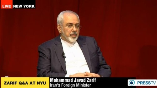 """Iran Daily, April 30: Foreign Minister Zarif to New York Audience — """"US Will Isolate Itself in World If It Breaks Nuclear Agreement"""""""