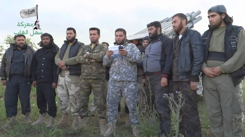 Syria Daily, April 23: Rebels Launch Major Offensive in Idlib & Hama Provinces in Northwest