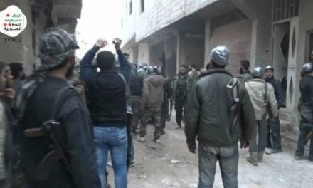 Syria Feature: Rebels Try to Defeat Islamic State in Northern Damascus Suburbs