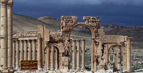 """Syria Feature: """"Scorched Earth"""" in Russian-Regime Offensive on Palmyra"""