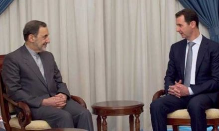Syria Feature: Top Aide of Iran's Supreme Leader Pays Sudden Visit to Assad