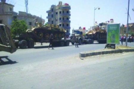 Syria Feature: Druze Groups Block Movement of Military's Weapons and Tanks Out of Southeastern Province