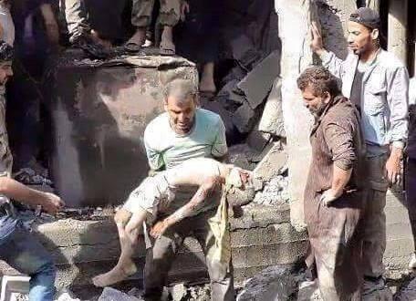 SYRIA BOMBING NASEEB